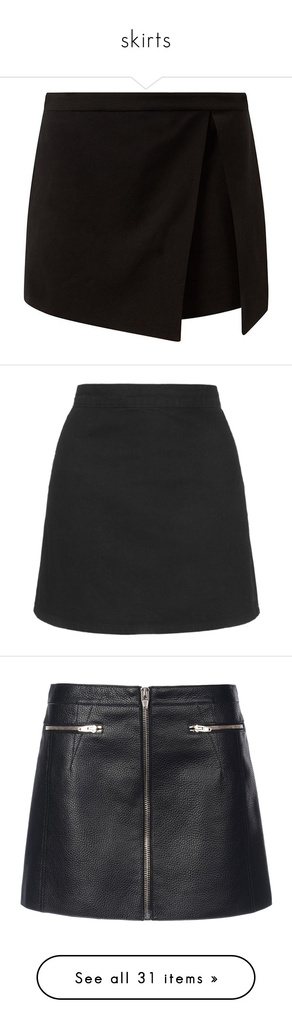 """skirts"" by lilhendrick ❤ liked on Polyvore featuring skirts, mini skirts, bottoms, skorts, shorts, skort skirt, jersey mini skirt, jersey skirt, mini skirt and slim skirt"