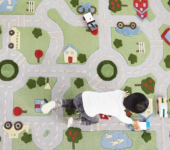 3d Activity Play In The Park Rug With Images Kids Rugs