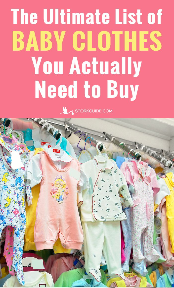 Baby clothes list: what do you really need for your ...