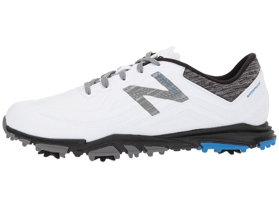New Balance Golf NBG1007 Minimus Tour Men s Golf Shoes White Black ... a70d08096c0