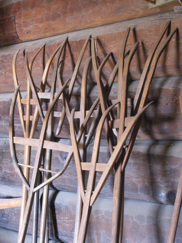 Wooden Rakes Primitive Antiques Old Farm Equipment Garden Tools