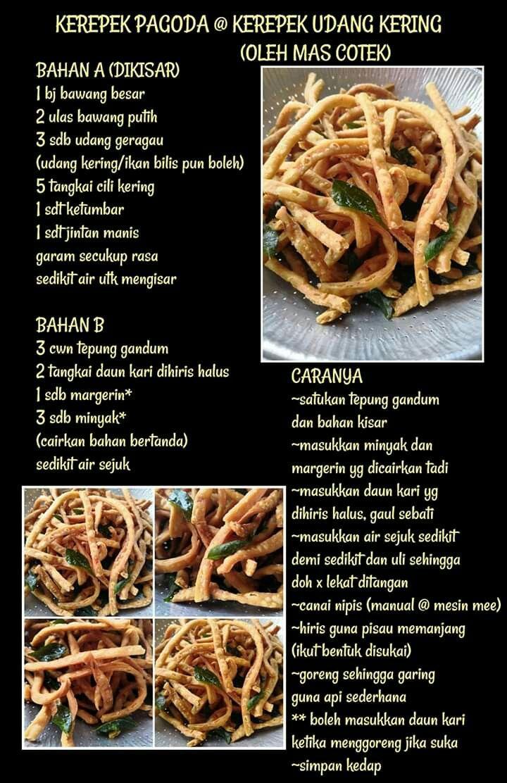 Kerepek Pagoda Recipes Snacks Dishes Cooking Recipes
