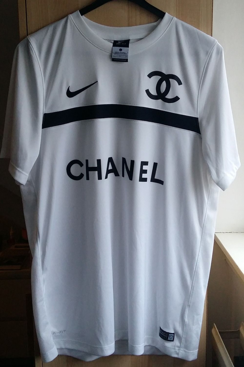 036c613e Buy: Shirts (#315719), - Nike football jersey, printed Chanel logo ...
