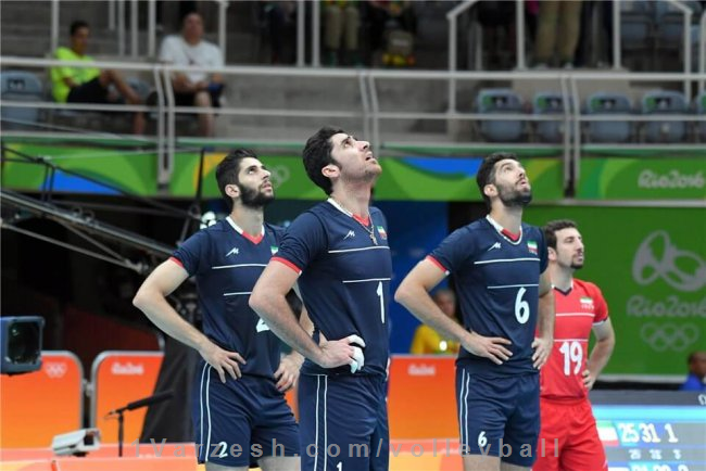 گزارش تصویری؛ ایران ۳ ۰ کوبا (والیبال المپیک) یک ورزش