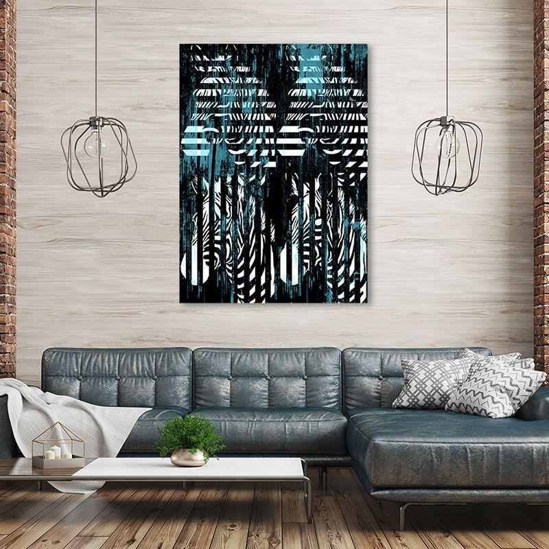 Ein super schönes Zebra Porträt in den Farben schwarz, weiß, türkis. Ein verspieltes Werk von DENKSTAHL. Finde dieses und ähnliche Kunstwerke auf unserer Website! *** Unikat. 110x150 cm. FineArtPrint hinter Acrylglas, verstärkt durch eine Alu-Rückwand. *** #Denkstahl #Gegenwartskunst #Urbane Kunst #Digital #Denkstahl #Symbolism #Zebrastreifen #Tierportrait #Modern Art Lifestyle #Design #Interior Design #Kunst Modern Interior #Kunstberatung #Kunstvermittlung #Galerie Vollherzig