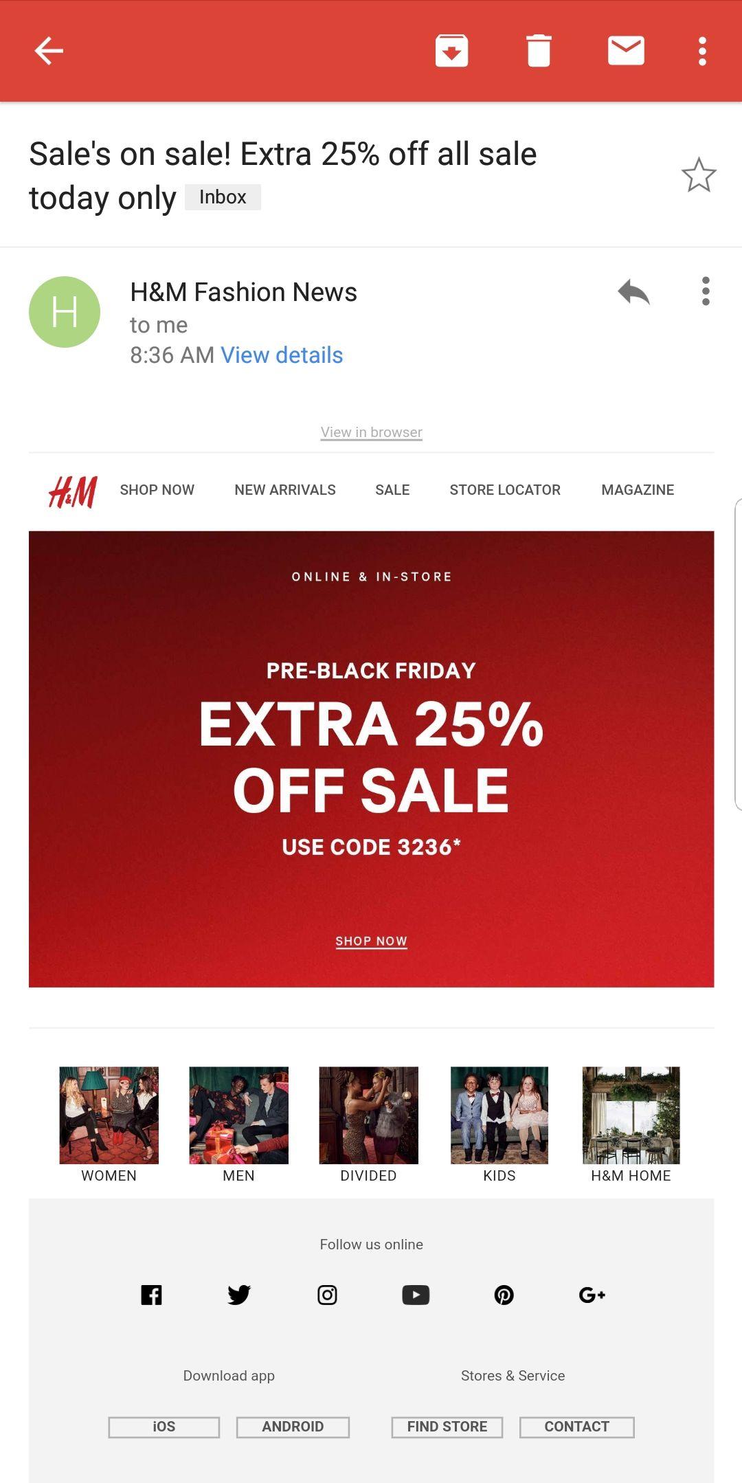 Pin By Nicolas Llanos On Sale Options H M Fashion Pre Black Friday Sale