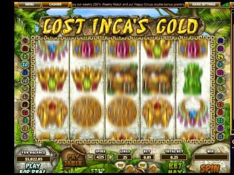 Lost IncaS Gold For Free Online With No Download!