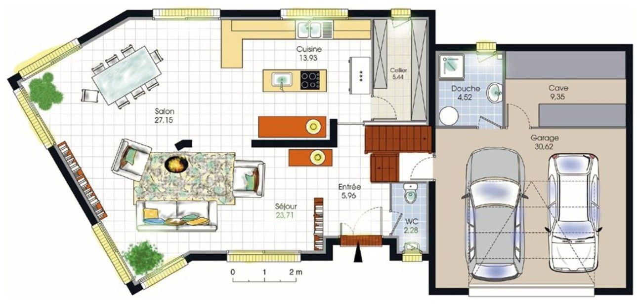 Plan Maison Contemporaine Gratuit