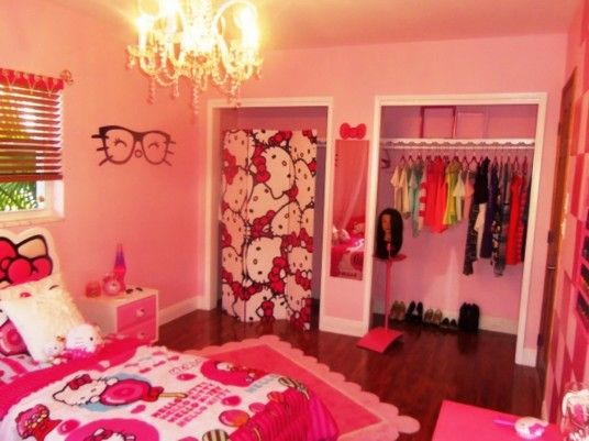 Best Hello Kitty Bedroom Decor. Hello Kitty Bedroom  LOVE    Hello Kitty Kitty       Pinterest
