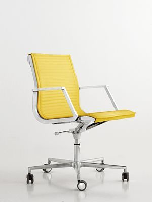 Yellow And White Office Chair