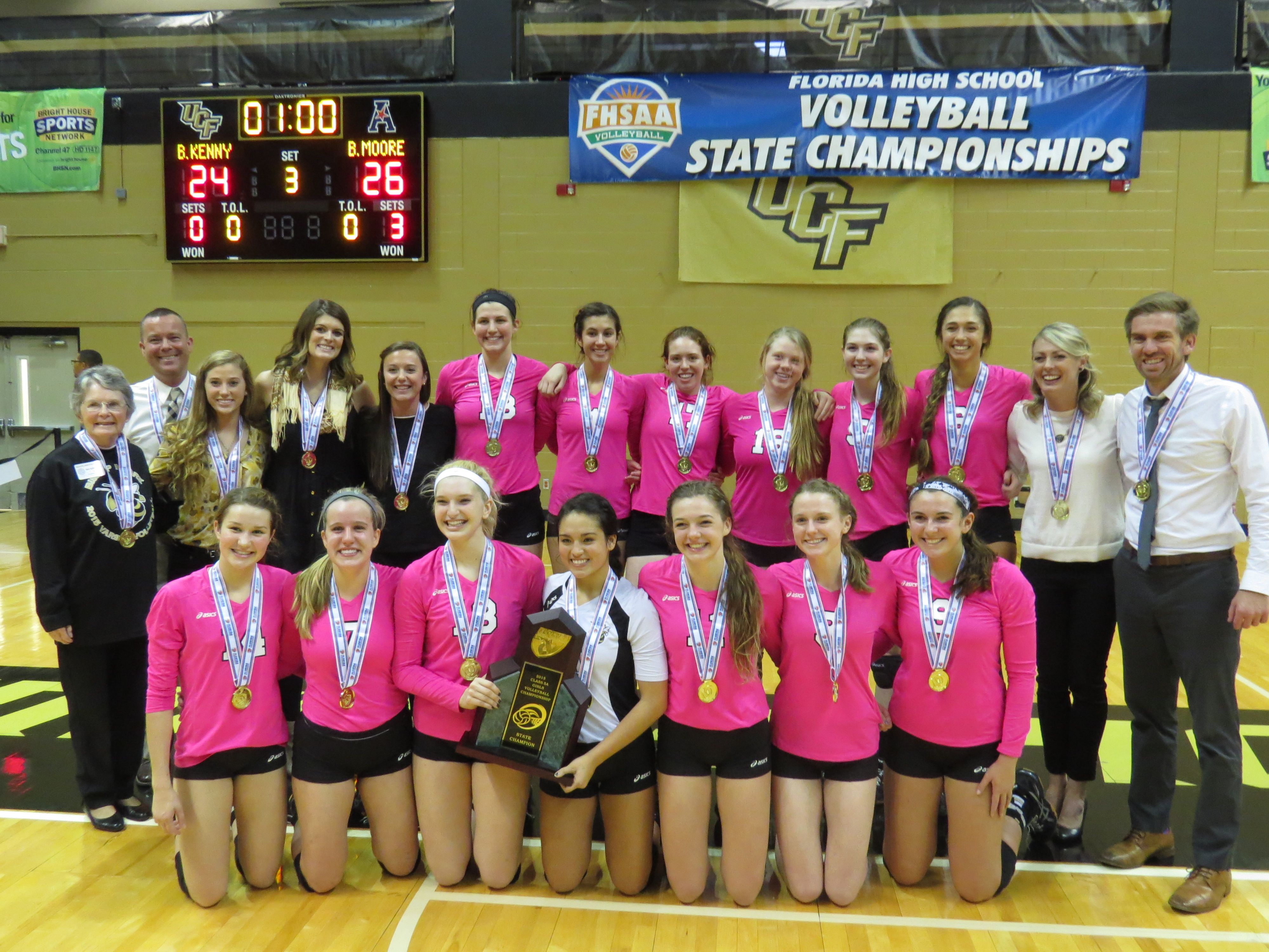 Day 2 Recap of the Florida High School Girls #Volleyball State  Championship. From #