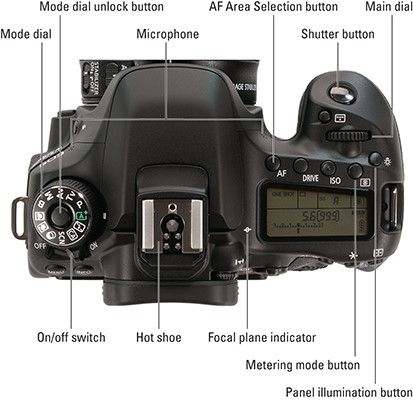 Your Canon 80d Camera Has So Many Features That It Can Be Difficult To Remember What Each Control Does T Camera Photography Canon Camera Dslr Photography Tips