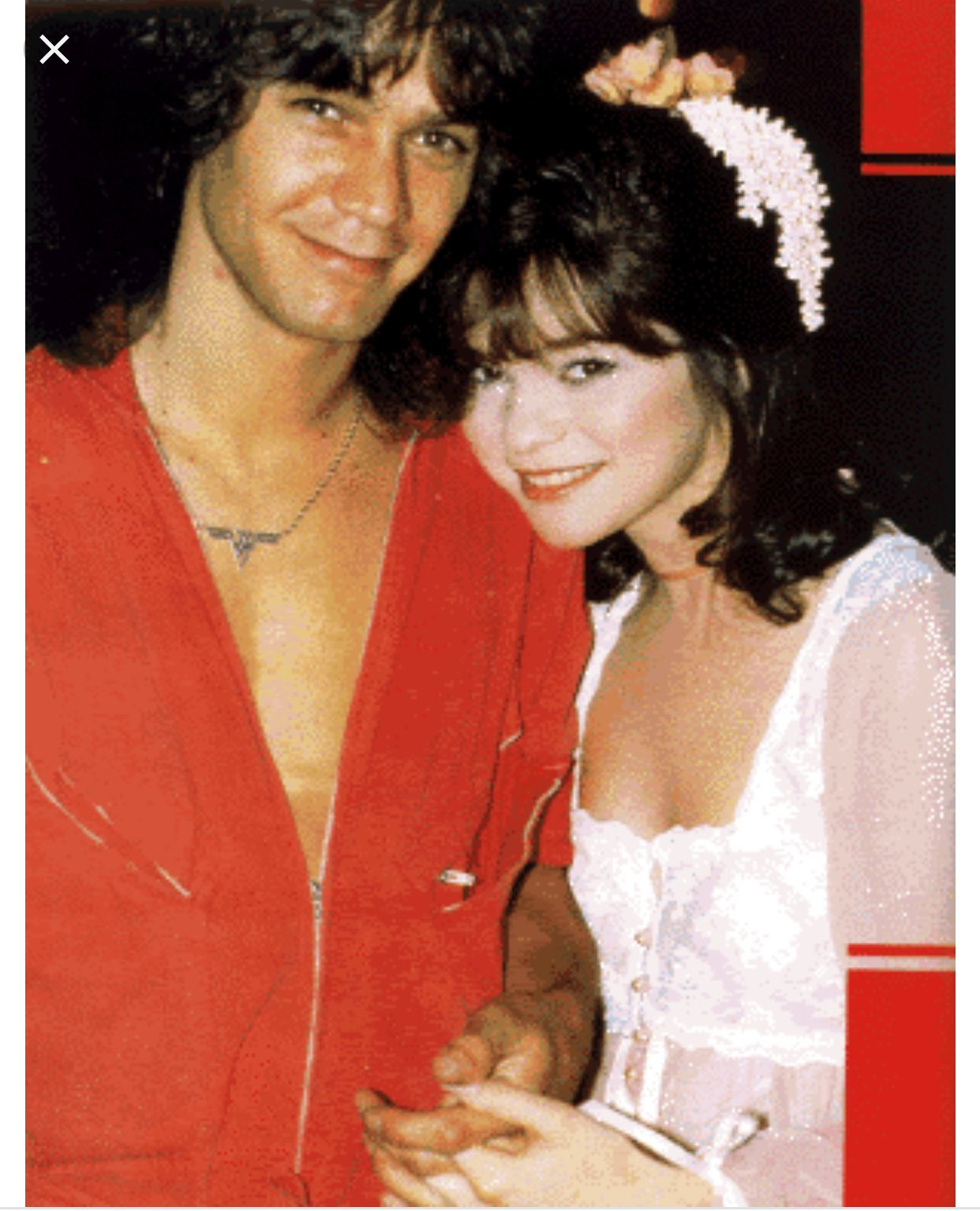 Pin By Irad On Memories Eddie Van Halen Van Halen Hollywood Couples