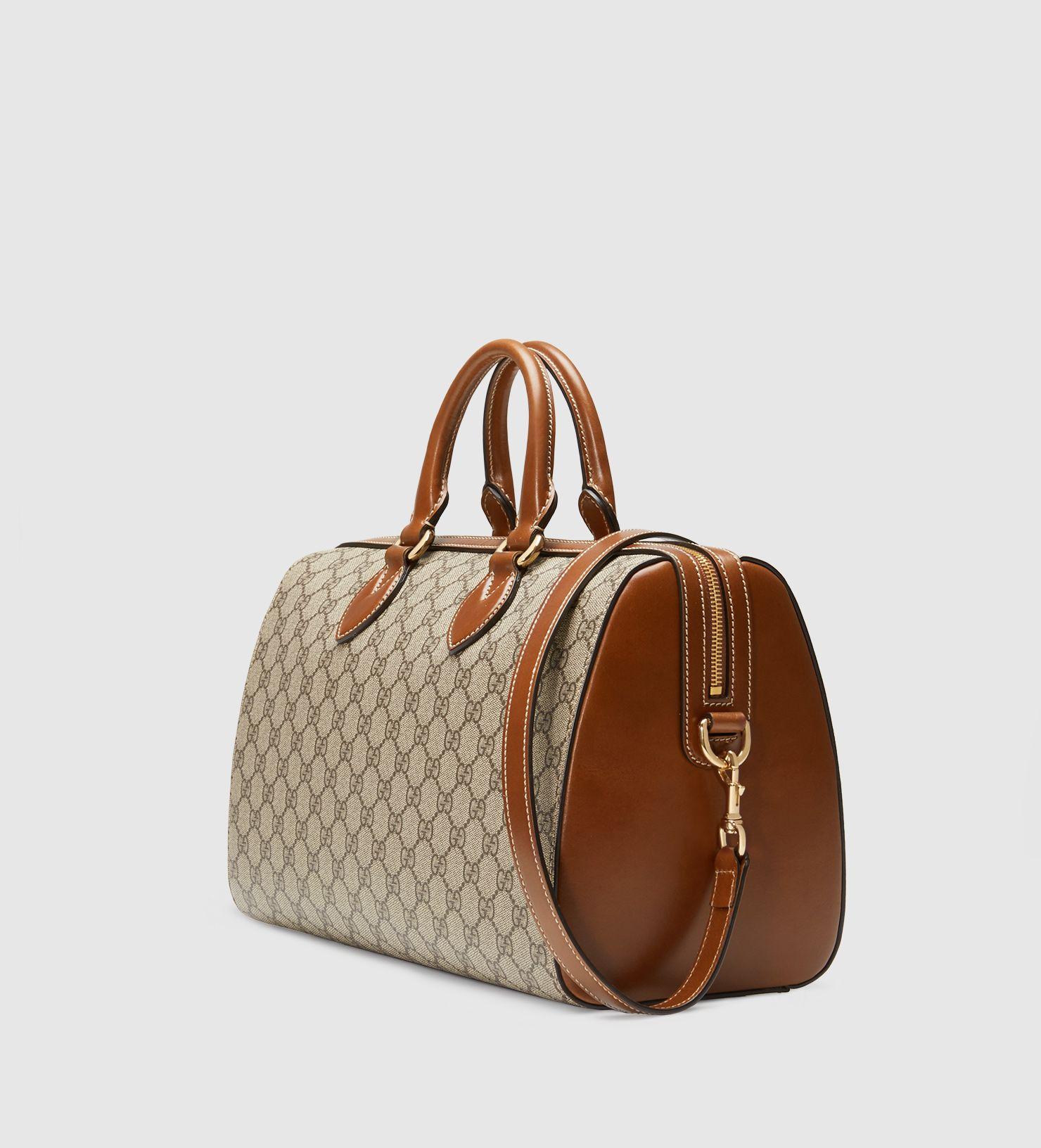 cb075ac1eda1e Gucci - borsa a mano GG supreme 409527KLQHG8526
