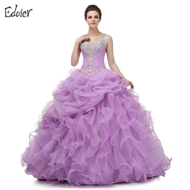 Find More Quinceanera Dresses Information about Lavender Quinceanera ...