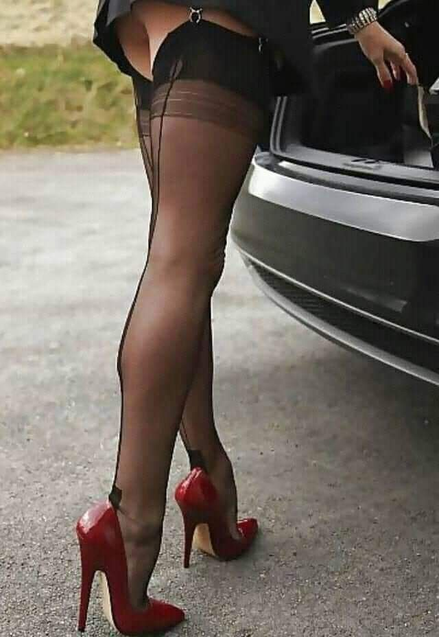 Pin by Cel77 on stockings | Stockings legs, Thigh high