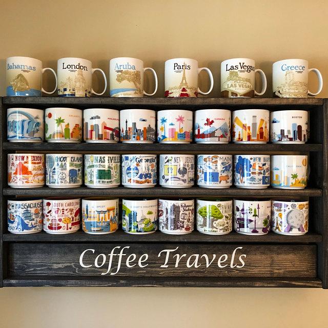 mug rack coffee mug display