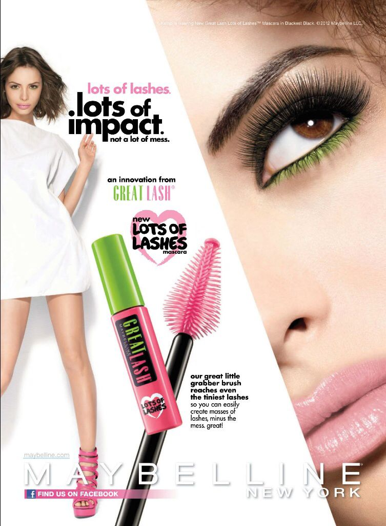 Maybelline Cosmetic Advertising | Cosmetic & SkinCare Advertising ...