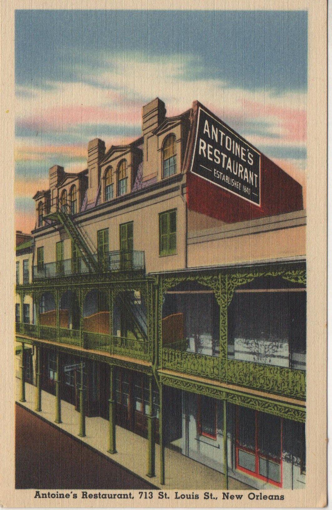 1930's Louisiana Postcard. Hagins collection. New