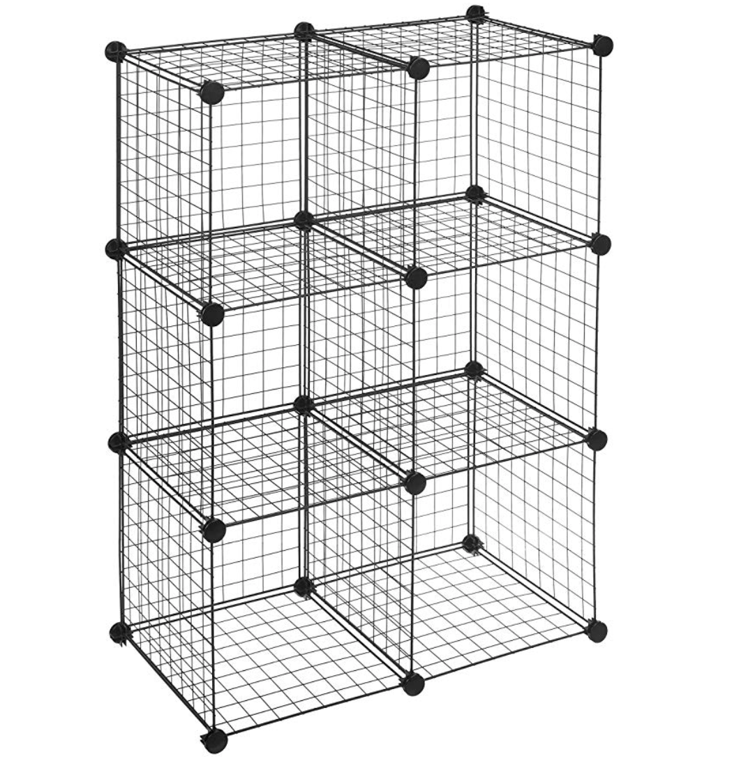 Pin By Katherine Wyniemko On Bedroom In 2020 With Images Wire Storage Shelves Stackable Shelves Collapsible Shelves