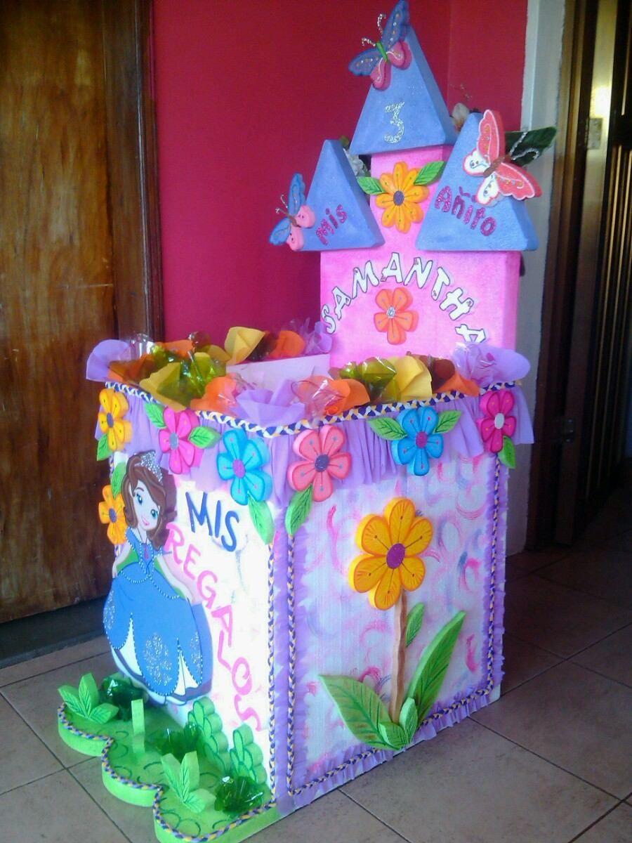 Caja de regalos de la princesa sof a bsf en - Regalos para pinatas ...