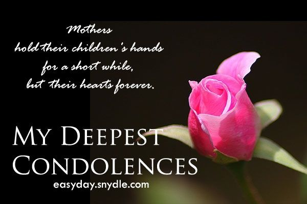 snydle files 2013 12 condolences-messages-on-death-of-mother - sympathy message