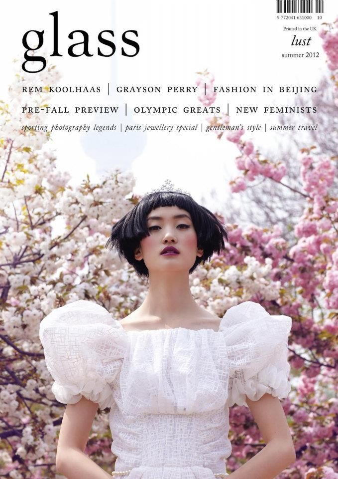 Lina Zhang for Glass Magazine #10 Summer 2012
