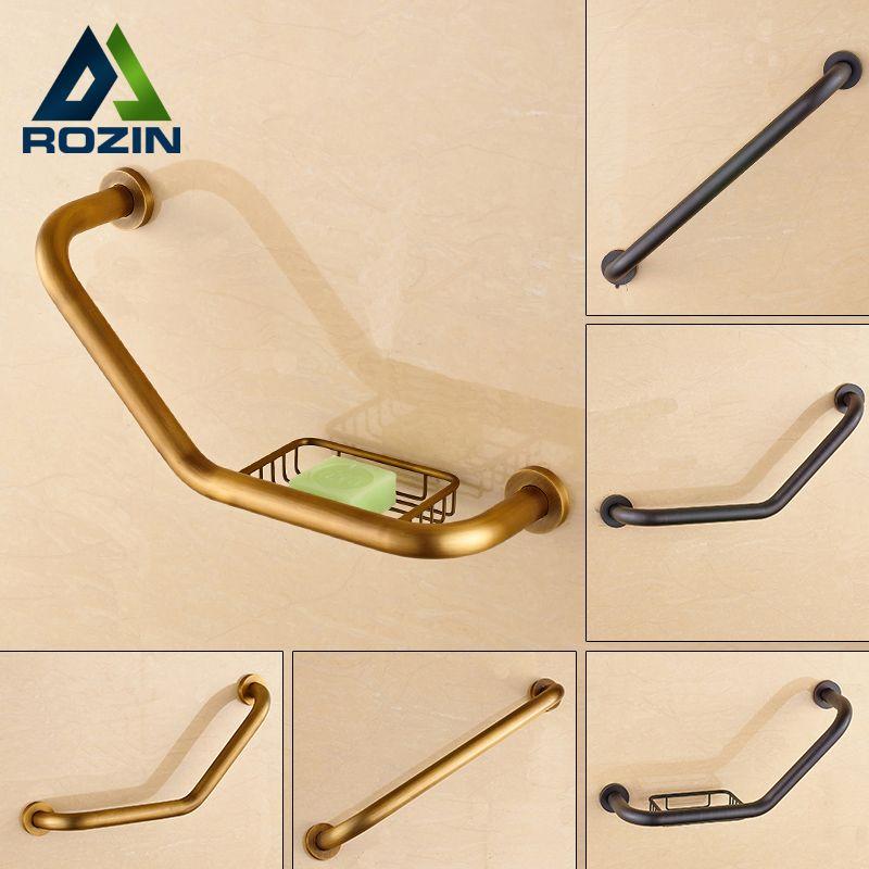 Free Shipping Brass Bathroom Grab Bars Wall Mounted Helping Handle ...