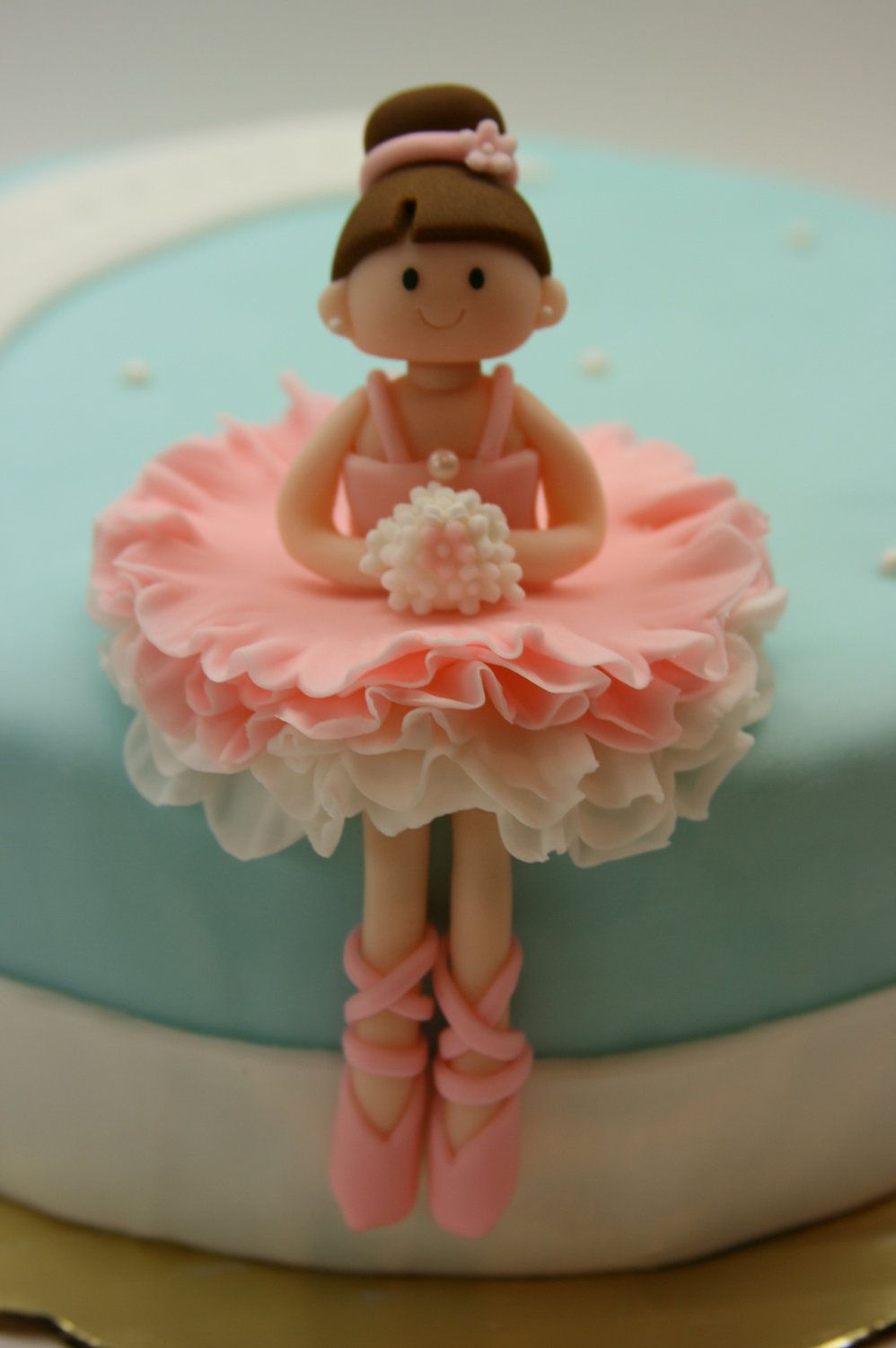 Picture Idea For Making Your Own Ballerina Cake Topper -8153