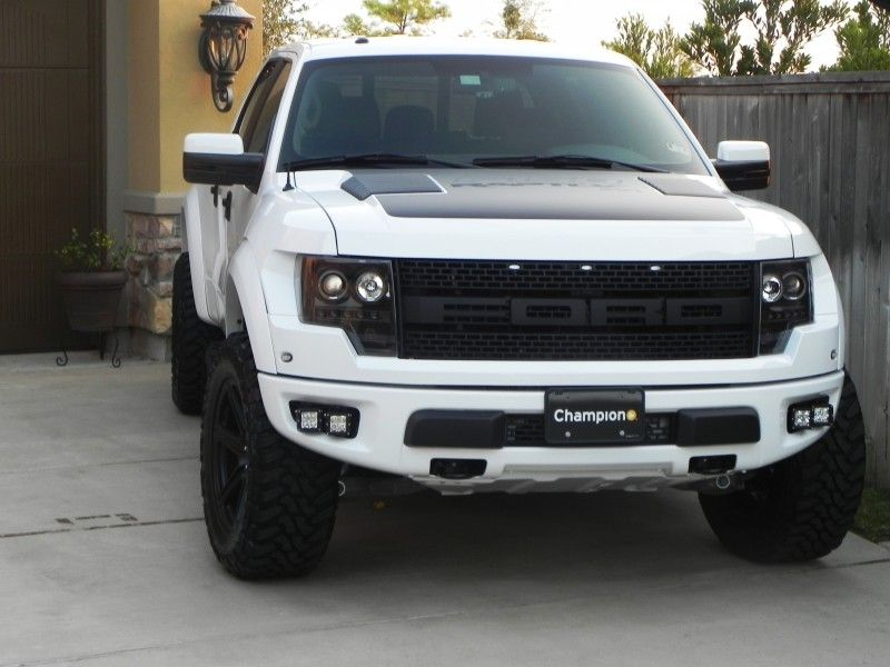 White Raptor With Hre S And Brembo S Ford Raptor Ford Raptor Truck Raptor