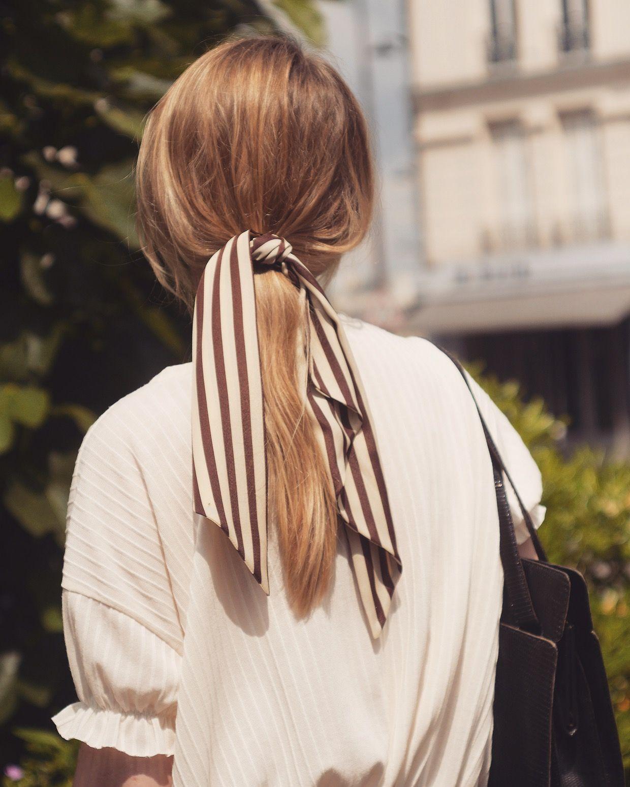 choisir le plus récent dernières conceptions diversifiées femme Foulchie (mélangé entre un foulard et un chouchou) de la ...