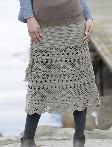 Three Amazing Cozy Lady Crochet Skirts S Xxxl Size Free Easy