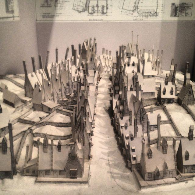 Model town for Harry Potter
