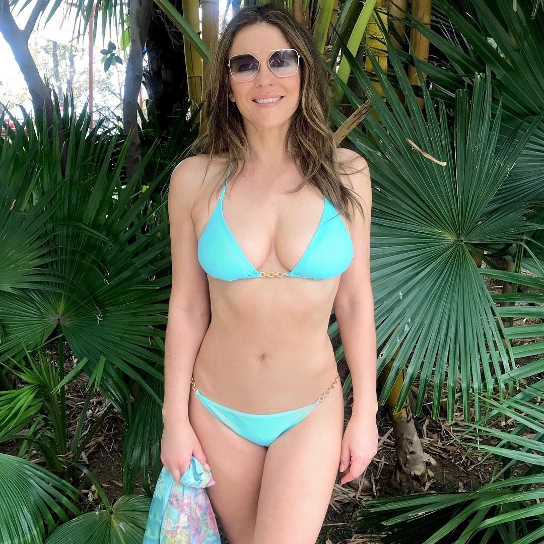 Elizabeth Hurley On Instagram Small Sun Bathing Break Between Meditations Anandainthehimalaya Celebrity Bikini Celebrity Swimwear Celebrity Bikini Bodies