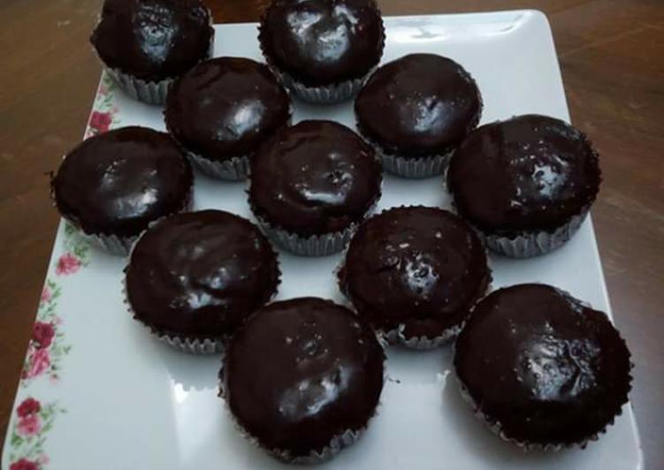كب كيك الشوكولاته بالصور من Chef Magy Recipe Food Cake Breakfast