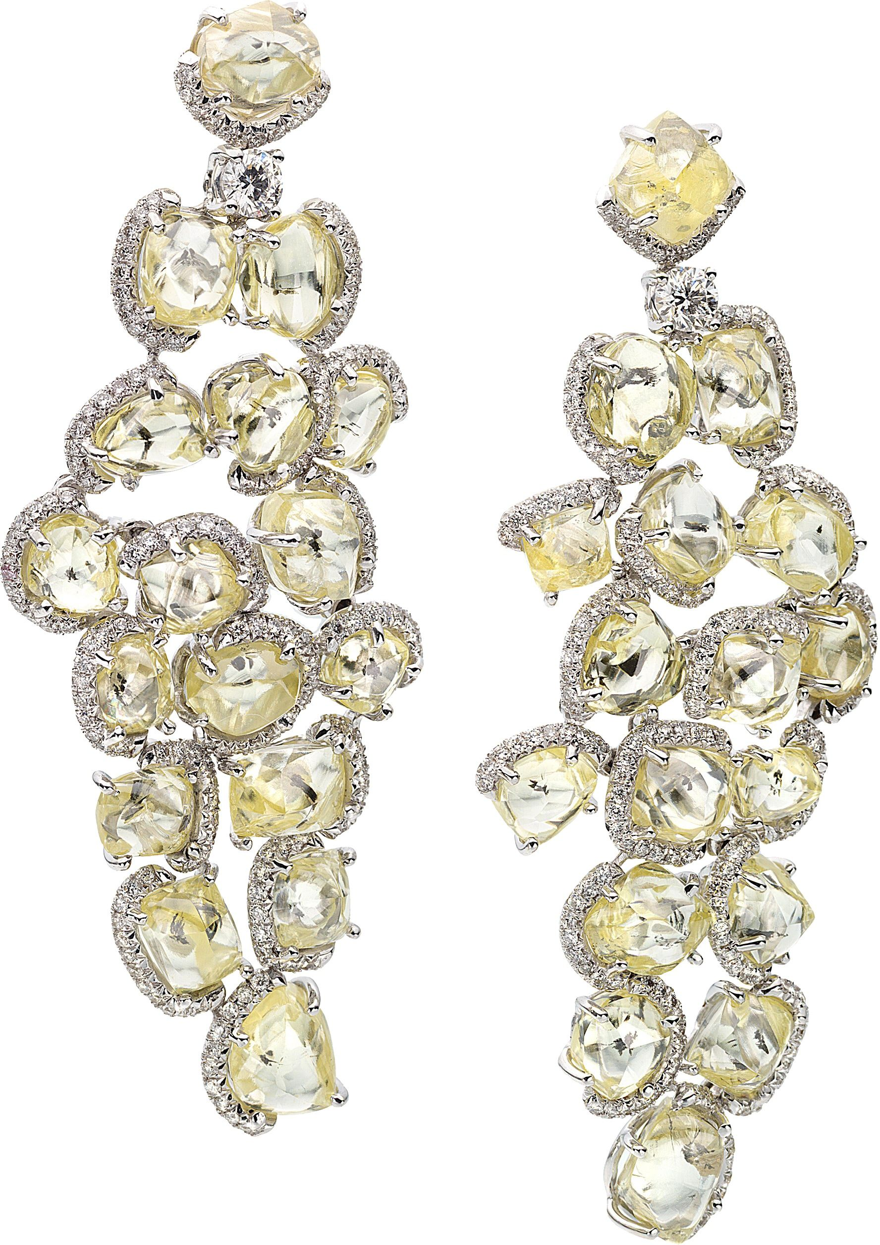 earrings silver diamonds erosion studs products champagne reeves small diamond jenny