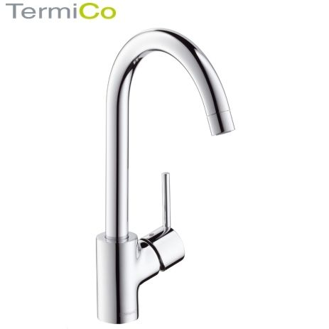Hansgrohe Talis S Single Lever Kitchen Sink Mixer Tap - 32851000 - wasserhahn k che hansgrohe