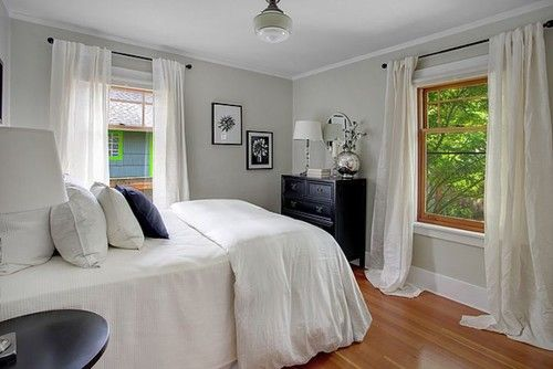 Seattle Greenlake Craftsman   Sherwin Williams Ancient Marble is a  wonderful restful color in a master. Seattle Greenlake Craftsman   Sherwin Williams Ancient Marble is a