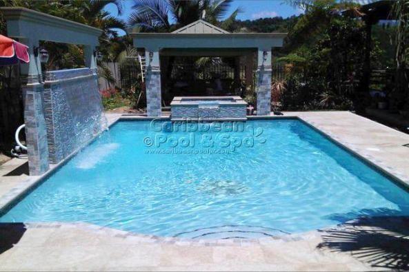 Caribbean pool and spa construcci n de piscinas en - Piscinas y spas ...