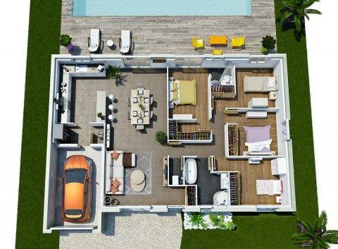 Couleur Villas Vous Propose Des Plans De Maison Moderne Et