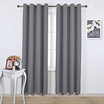 gray metallic size stripe medium ticking blackout long curtains inch brown kitchen walmart sheer bedroom of white curtain and panels light silver