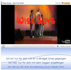 Improve your German listening skills with lyrics training on http://angelikasgerman.co.uk/improve-your-german-listening-skills-with-lyrics-training/
