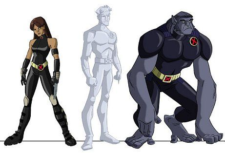 X Men Evolution X 23 Iceman Beast X Men Evolution Marvel Girls X Men