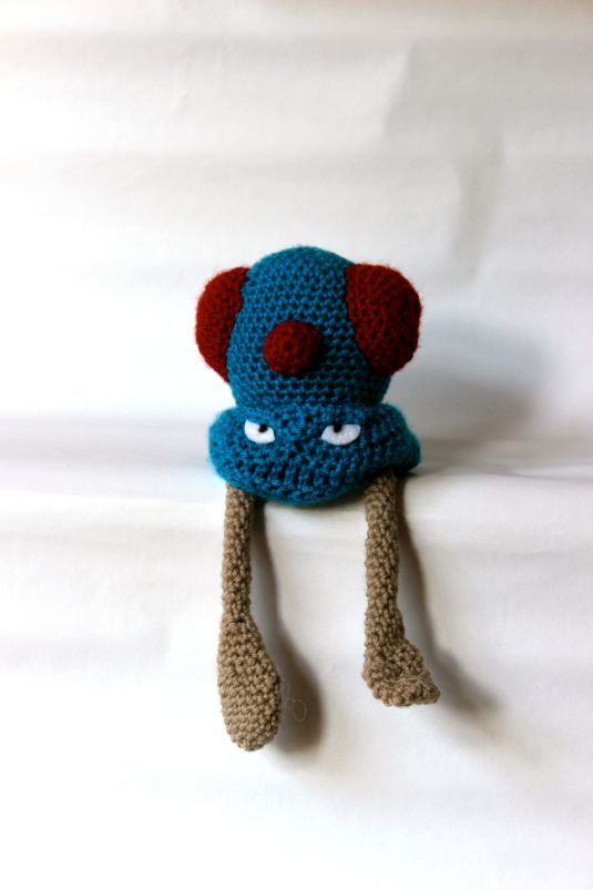 072 Tentacool made by pokémon crochet challenge | Crochet them all ...