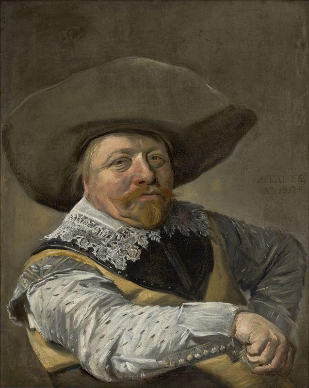 Frans Hals - Portret van een officier