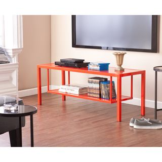 Holly & Martin Maians Red-Orange Media Console - Overstock™ Shopping - Great Deals on Holly & Martin Media/Bookshelves