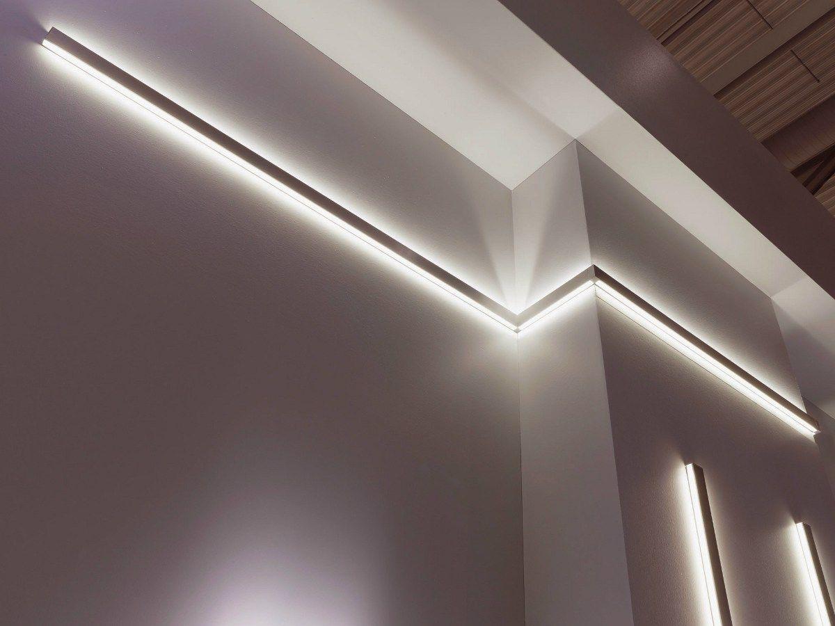 Perfect MILLELUMEN ARCHITECTURE LED Lichtleiste by millelumen Design Dieter K Weis