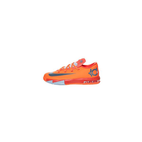 best website 21464 4ab47 Boys  Grade School Nike KD 6 Basketball Shoes ( 75) ❤ liked on Polyvore  featuring shoes, sneakers, nike, jordans and kd