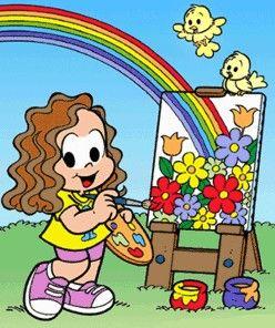 Marina De Souza Festa Turma Da Monica Atividades De Pintura