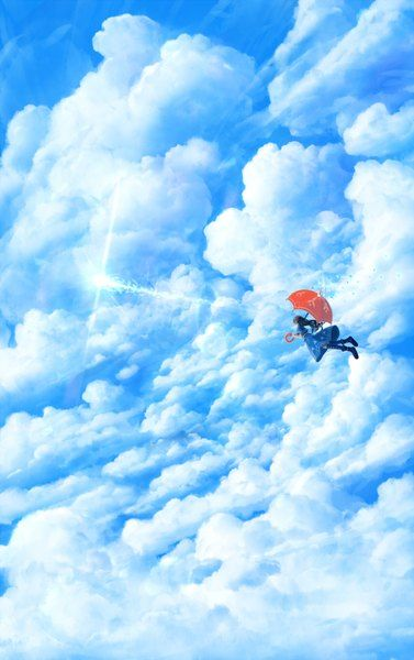 Anime pictureoriginal bounin single long hair tall image black hair 1100x1750400102en